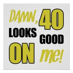 40 days, that is :-)