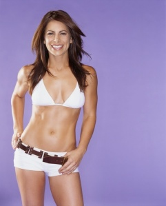 The incredible hotness that is Jillian Michaels. How can you *not* want to work out with this woman?!