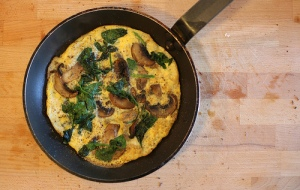 You can get really creative with your omelette fillings. Use any veg that you've already phased in and that agrees with you, like spinach, mushrooms or peppers